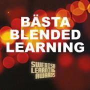 """Vinnare av """"Bästa Blended Learning 2015"""" på Swedish Learning Awards tillsammans med Grade och Addpro."""